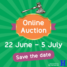 Silent auction set to raise £10,000
