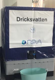 NSVA förbereder nödvatten till Torekov