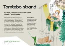 Informationsblad till boende om Tomtebo strand