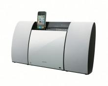 Schlichte Eleganz: Neue Design-Anlage CMT-CX5iP von Sony mit integrierter Docking Station für iPod/iPhone