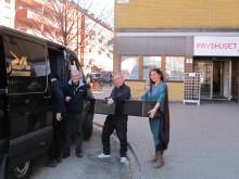 Nu kan Stadsmissionen och Fryshuset i Malmö dela ut över 1 500 luncher i april