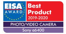 Sony firar rekordframgång under EISA Awards 2019 inklusive den första vinsten för fotoinnovation