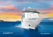 Norwegian Cruise Line celebrates first construction milestone for newest ship