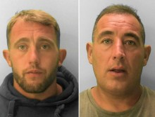 Two Hastings men jailed for assault in which catapult was used