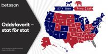 Trump knappar in i flera vågmästarstater
