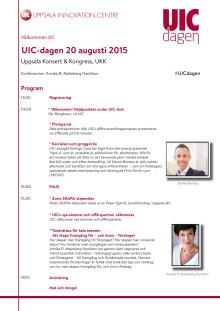 Program: UIC-dagen 2015