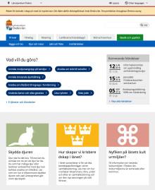 Länsstyrelserna lanserar ny webbplats med besökaren i fokus