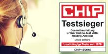Testsieger: united-domains hat die beste Kunden-Hotline