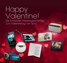 Die schönsten Herzensgeschenke zum Valentinstag von Sony