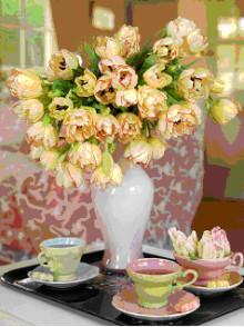 """Inbjudan till ett """"Delicate Tea Party"""" på Tulpanens Hus"""