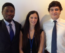ALLIANZ SELECTS THREE UNIVERSITY STUDENTS FOR NEW ONE YEAR PLACEMENT SCHEME