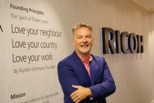 Mark Hinder blir Ricohs nye Commercial Print  Business Manager