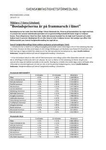 """Mäklare i Västra Götaland: """"Bostadspriserna är på frammarsch i länet"""""""
