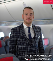 Faces of Norwegian: Michael O'Connor