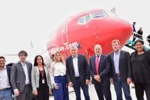 Norwegian inauguró hoy sus vuelos a Jujuy y estrenó el nuevo aeropuerto de la provincia
