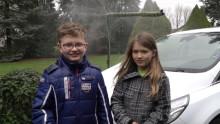 Barn med oppfinnelse som kan redusere verdens vannforbruk