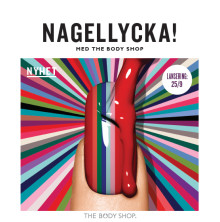 Nagellycka med The Body Shop