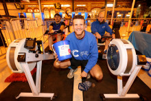 Fundraising Brighton train drivers smash rowathon target