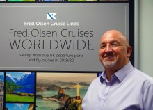 Fred. Olsen Cruise Lines to bid farewell to Mike Evans after an impressive 27 years!