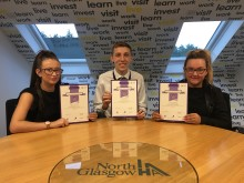 ​  ng homes Housing Trainees celebrate CIH qualification success