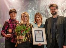 Stolta vinnare av Elmia Spark Award