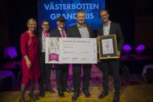 Västerbottensost® vinner Västerbotten GrandPris