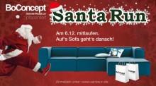 BoConcept präsentiert Santa Run in Hannover