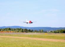 Vel 3 millioner passasjerer fløy med Norwegian i juni