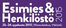 Esimies ja henkilöstö 2015