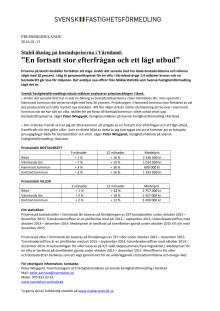"""Stabil ökning på bostadspriserna i Värmland: """"En fortsatt stor efterfrågan och ett lågt utbud"""""""