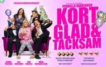 """Tv4 visar Pernilla Wahlgrens prisbelönta föreställning """"Kort Glad & Tacksam"""" lördag 14 december!"""