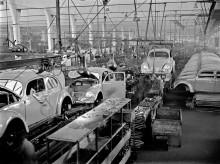 Historisk årsdag för Volkswagens fabrik i Wolfsburg