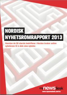 Nordiske virksomheter i front på bruk av online nyhetsrom