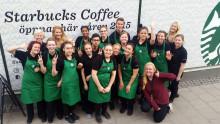 Pressinbjudan - Officiell öppning av Starbucks hittills största butik i Sverige