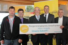 Bürgerenergiepreis Unterfranken 2016: Aufruf zum Bewerbungsstart