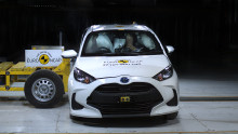 Thatcham Research comment: Toyota Yaris first to score five-stars in updated Euro NCAP tests