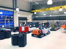 Invigning av Hydroscands nya butik i Vetlanda