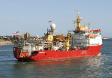 Cavotec radio remote controls embark on Antarctic mission