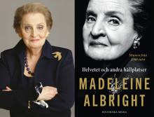 Madeleine Albright Sverigeaktuell med självbiografi — medverkar i Skavlan
