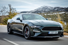 Specialversionen Ford Mustang Bullitt gör Europadebut under motormässan i Geneve