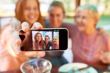 Pensionärer driver nytt rekord i smartphone-användning