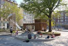 Populær legeplads sætter gang i området ved Langelands Plads