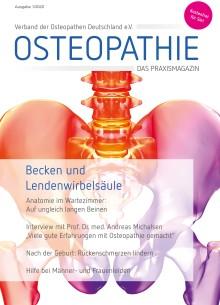 Neues Osteopathie-Praxismagazin jetzt bestellen