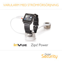 Nytt varularm med strömförsörjning åt dyrbar elektronik
