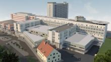 Schneider Electric installerar fastighetsautomation på framtidens sjukhus