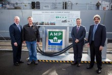Cavotec and Port of Los Angeles mark environmental co-operation with inauguration of shore power system for USS Iowa