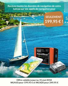 Navigation portable - promotion sur nos serveurs NMEA-WiFi