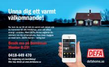Nyköpings Bomässa  -möt DEFA Home App-styrning för fritidshuset