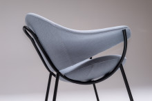 Murano - neat, comfortable easy chair reminding of Venice, by Luca Nichetto.
