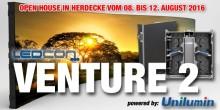 Jetzt bei publitec mieten – VENTURE 2 (powered by Unilumin) setzt neue Maßstäbe für 2,6 mm LED!